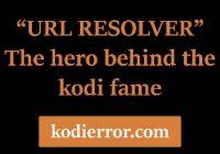 Kodi URL Resolver