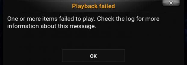 Fix Kodi Playback Failed Check log Error with easy steps